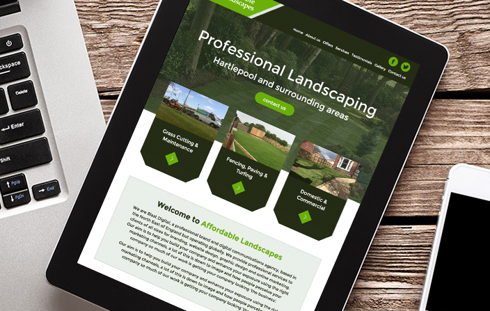Affordable Landscaping iPad
