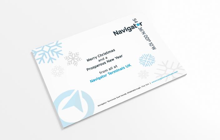 Navigator Christmas Postcard