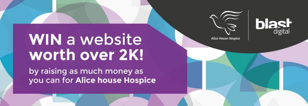 Raise money for Alice House Hospice